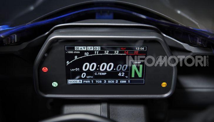 Nuove Yamaha YZF-R1 2020 e R1M 2020: ancora più MotoGP! - Foto 16 di 39