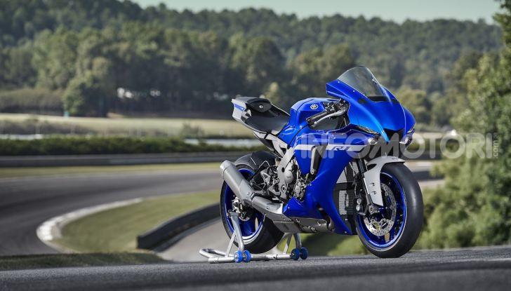 Nuove Yamaha YZF-R1 2020 e R1M 2020: ancora più MotoGP! - Foto 17 di 39