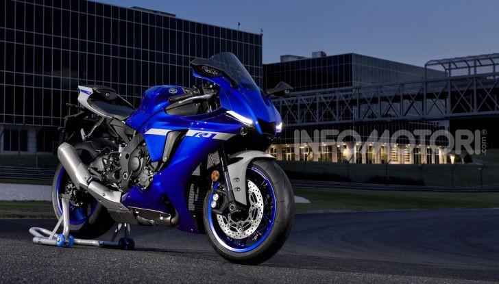 Nuove Yamaha YZF-R1 2020 e R1M 2020: ancora più MotoGP! - Foto 18 di 39
