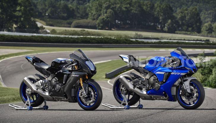 Nuove Yamaha YZF-R1 2020 e R1M 2020: ancora più MotoGP! - Foto 20 di 39