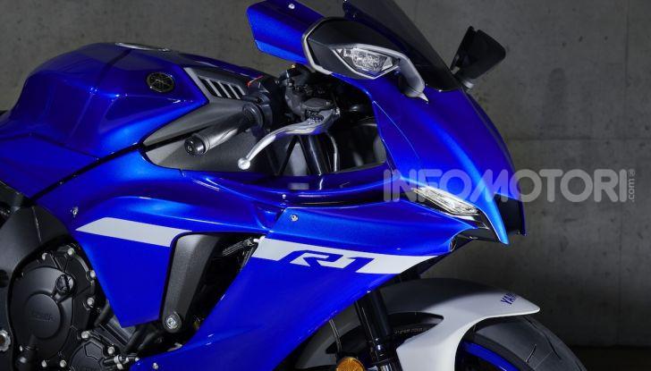 Nuove Yamaha YZF-R1 2020 e R1M 2020: ancora più MotoGP! - Foto 5 di 39