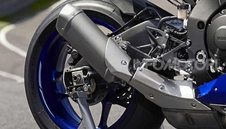 Nuove Yamaha YZF-R1 2020 e R1M 2020: ancora più MotoGP! - Foto 6 di 39