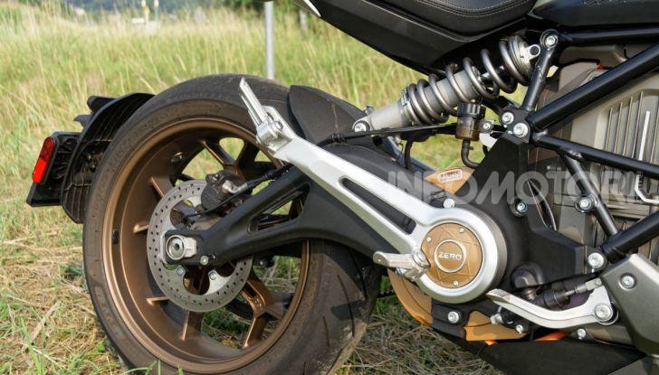 Prova Zero Motorcycles SR/F, l'elettrica di nuova generazione è di un altro pianeta! - Foto 31 di 58