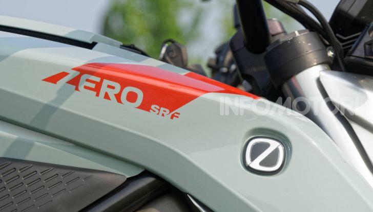 Prova Zero Motorcycles SR/F, l'elettrica di nuova generazione - Foto 32 di 58