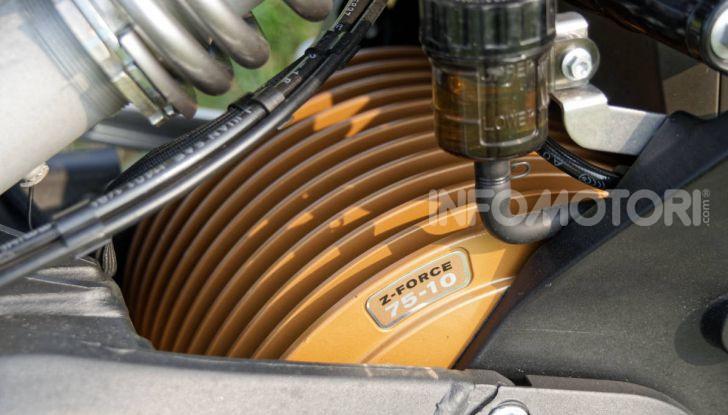 Prova Zero Motorcycles SR/F, l'elettrica di nuova generazione è di un altro pianeta! - Foto 38 di 58