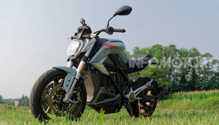 Zero Motorcycles SR/F estetica