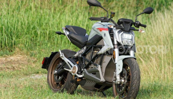 Prova Zero Motorcycles SR/F, l'elettrica di nuova generazione - Foto 55 di 58