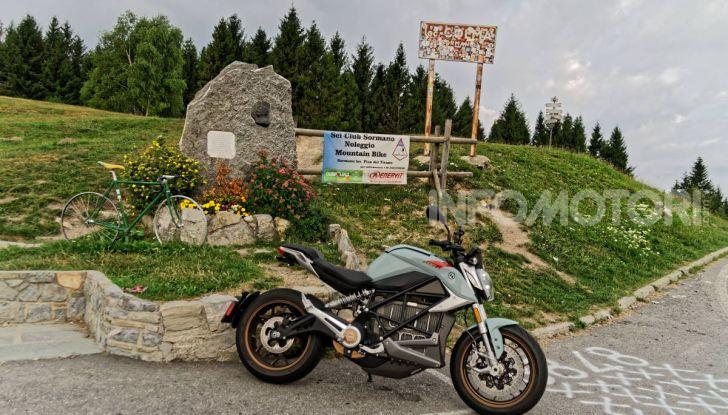 Prova Zero Motorcycles SR/F, l'elettrica di nuova generazione - Foto 57 di 58