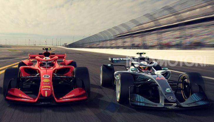 F1: prima bozza del nuovo regolamento per la Formula 1 del 2021 - Foto 2 di 10