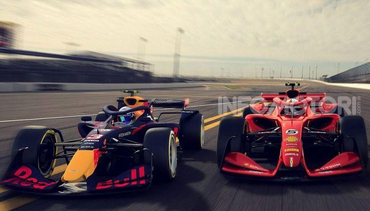 F1: prima bozza del nuovo regolamento per la Formula 1 del 2021 - Foto 3 di 10