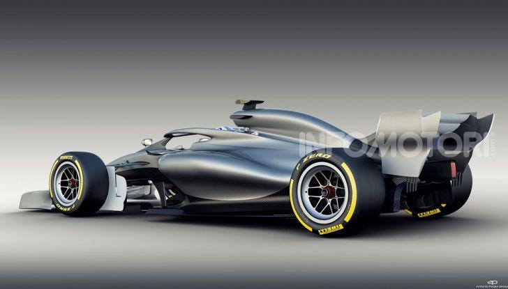 F1: prima bozza del nuovo regolamento per la Formula 1 del 2021 - Foto 6 di 10