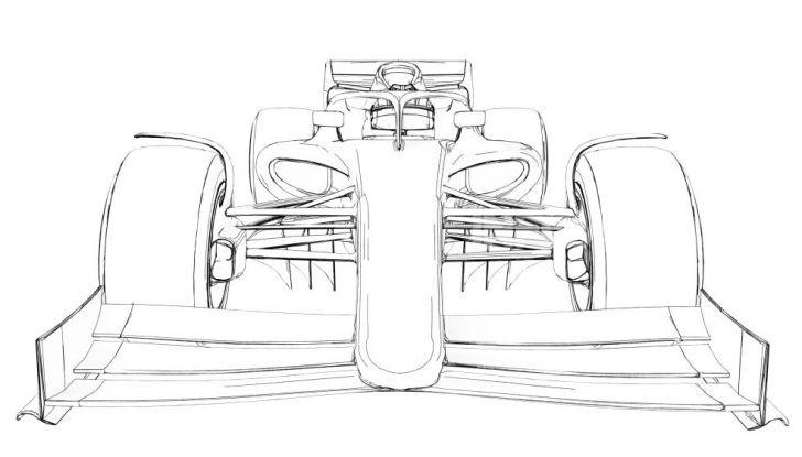 F1: prima bozza del nuovo regolamento per la Formula 1 del 2021 - Foto 9 di 10