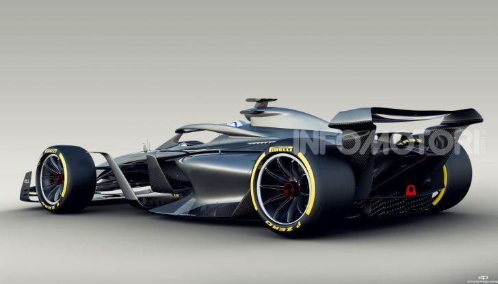 F1: prima bozza del nuovo regolamento per la Formula 1 del 2021 - Foto 8 di 10