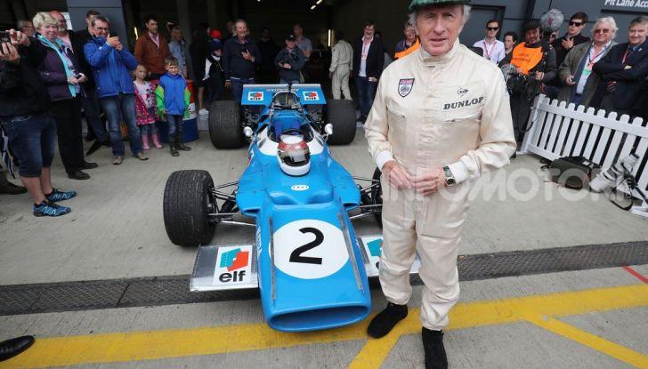 F1: Jackie Stewart torna in pista a Silverstone all'età di 80 anni - Foto 3 di 9
