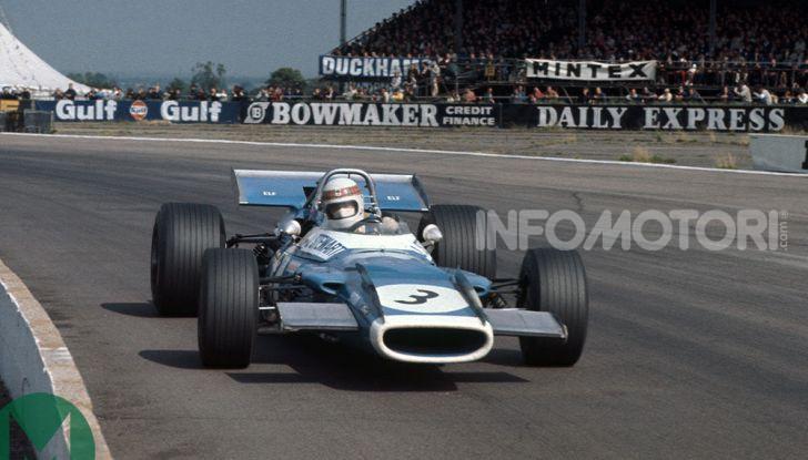 F1: Jackie Stewart torna in pista a Silverstone all'età di 80 anni - Foto 8 di 9