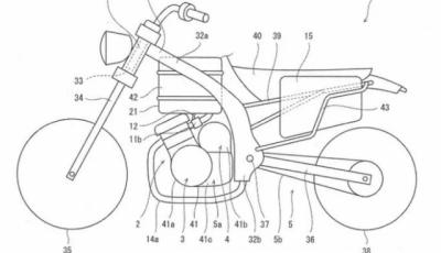 Kawasaki brevetta la primamoto ibrida di serie