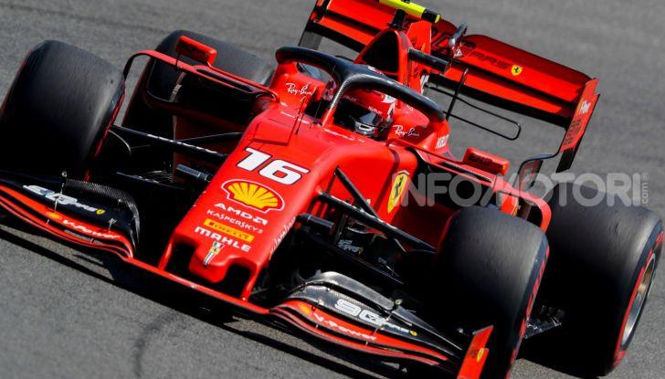 F1 2019 GP di Germania: Leclerc e la Ferrari brillano nelle libere di Hockenheim davanti a Vettel e Hamilton - Foto 10 di 17