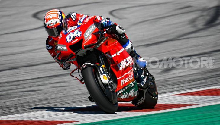 MotoGP 2019, GP d'Austria: Dovizioso batte Marquez all'ultima curva, Ducati ancora regina del Red Bull Ring - Foto 2 di 19