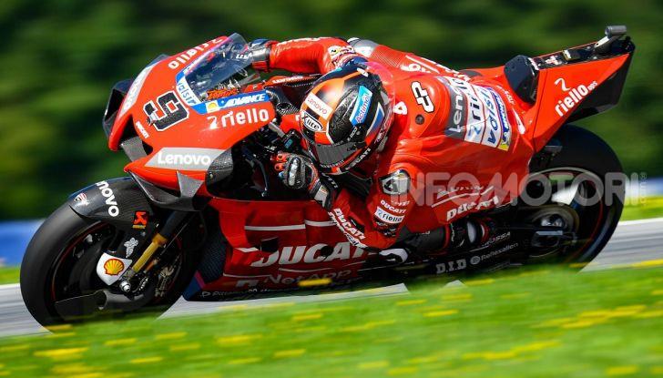 MotoGP 2019, GP d'Austria: Marquez davanti a tutti nelle libere del venerdì, Dovizioso a terra - Foto 4 di 19
