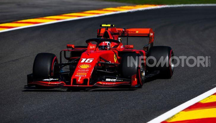 F1 2019, GP del Belgio: Leclerc vola nelle qualifiche di Spa-Francorchamps e centra la pole davanti a Vettel e alle Mercedes - Foto 1 di 17