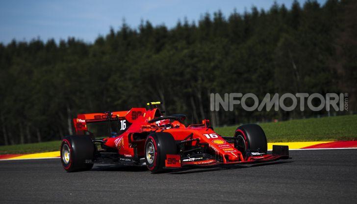 F1 2019, GP del Belgio: Leclerc vola nelle qualifiche di Spa-Francorchamps e centra la pole davanti a Vettel e alle Mercedes - Foto 2 di 17