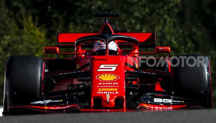 F1 2019, GP del Belgio: Leclerc vola nelle qualifiche di Spa-Francorchamps e centra la pole davanti a Vettel e alle Mercedes - Foto 3 di 17