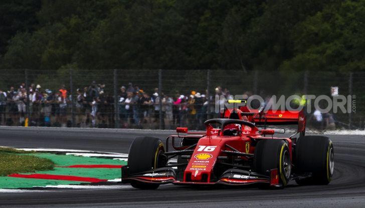 F1 2019: Leclerc con la Ferrari a Monza per il filming day Pirelli - Foto 6 di 9