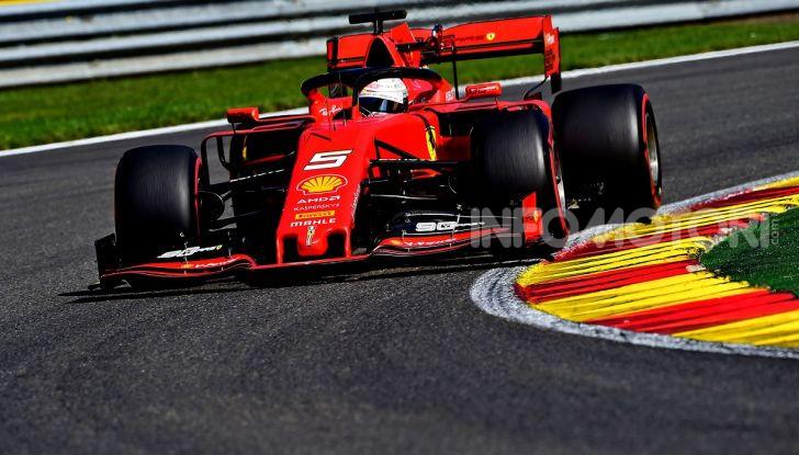 F1 2019, GP del Belgio: Leclerc vola nelle qualifiche di Spa-Francorchamps e centra la pole davanti a Vettel e alle Mercedes - Foto 4 di 17