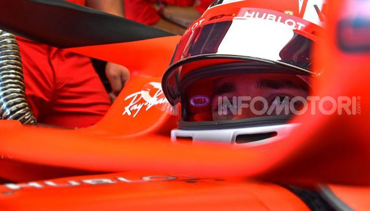 F1 2019: Leclerc con la Ferrari a Monza per il filming day Pirelli - Foto 5 di 9