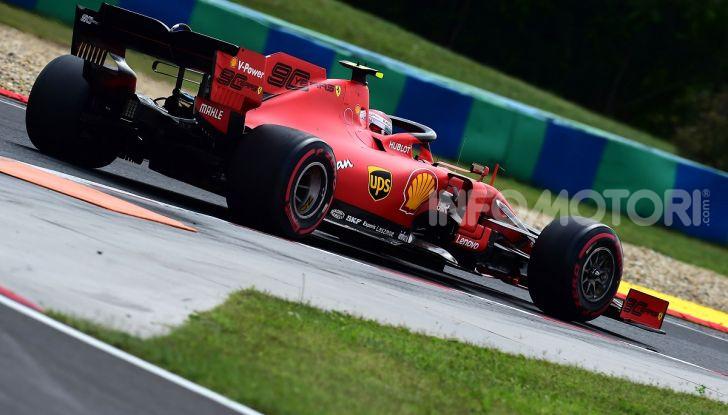 F1 2019: Leclerc con la Ferrari a Monza per il filming day Pirelli - Foto 9 di 9