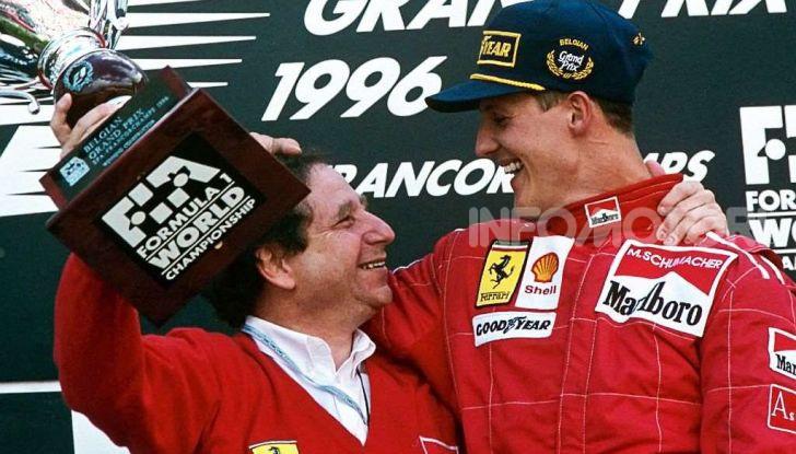 "F1, Jean Todt su Michael Schumacher: ""Non c'è più comunicazione"" - Foto 6 di 13"