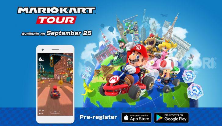 Mario Kart Tour su iOS e Android dal 25 settembre - Foto 2 di 5