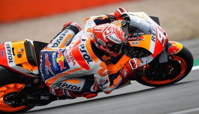 MotoGP 2019, GP di Gran Bretagna: acuto di Marquez nelle libere di Silverstone, poi Vinales. Dovizioso quarto, Rossi 17esimo