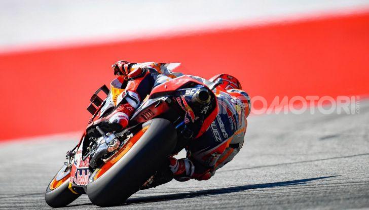 MotoGP 2019, GP d'Austria: Marquez davanti a tutti nelle libere del venerdì, Dovizioso a terra - Foto 8 di 19