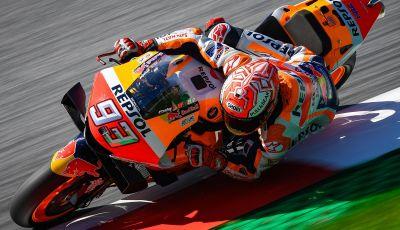 MotoGP 2019, GP d'Austria: Marquez inarrestabile al Red Bull Ring centra la pole davanti a Quartararo e Dovizioso