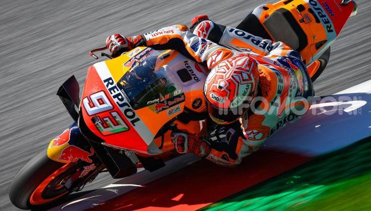 MotoGP 2019, GP d'Austria: Marquez davanti a tutti nelle libere del venerdì, Dovizioso a terra - Foto 5 di 19
