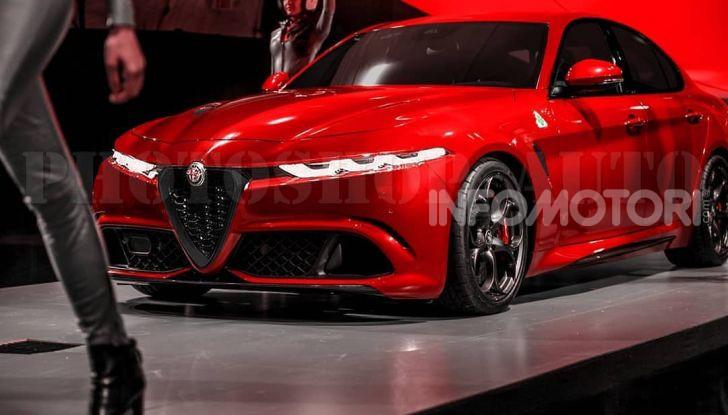 Alfa Romeo Giulia Restyling, la berlina potrebbe mutare verso SZ e Tonale - Foto 1 di 7