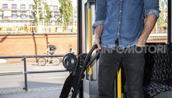 Audi e-Tron Scooter,  il monopattino elettrico Premium - Foto 8 di 11
