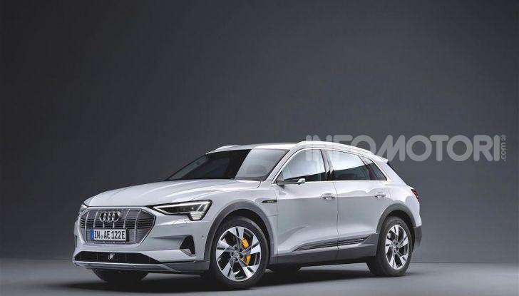 Audi e-tron 50 quattro: il SUV elettrico dei quattro anelli è ancora più accessibile - Foto 2 di 8