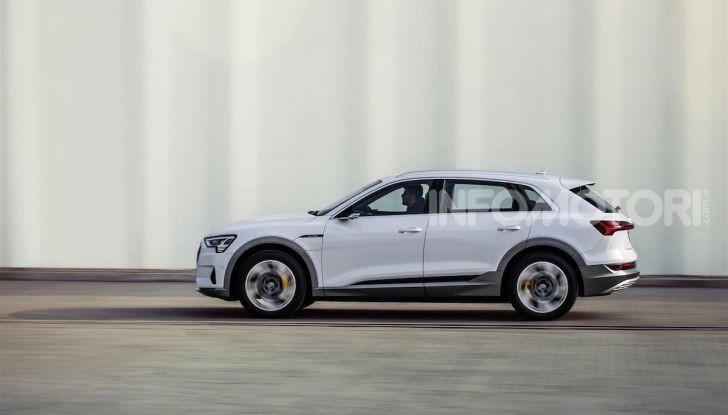 Audi e-tron 50 quattro: il SUV elettrico dei quattro anelli è ancora più accessibile - Foto 4 di 8