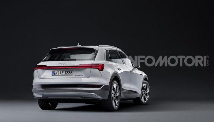 Audi e-tron 50 quattro: il SUV elettrico dei quattro anelli è ancora più accessibile - Foto 5 di 8