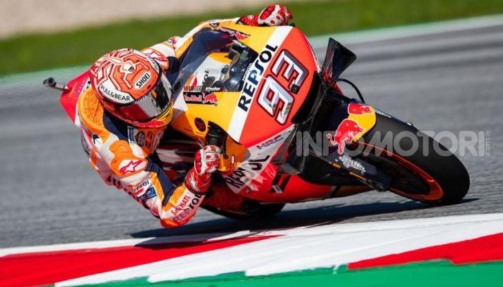 MotoGP 2019, GP d'Austria: Marquez davanti a tutti nelle libere del venerdì, Dovizioso a terra - Foto 6 di 19