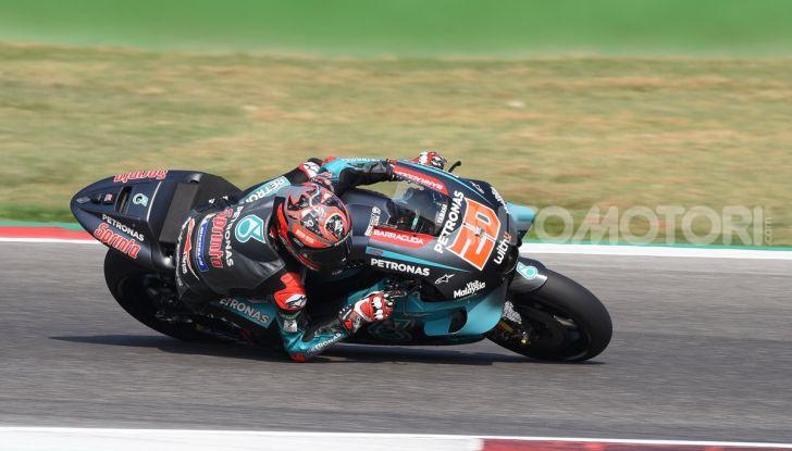 MotoGP 2019, Test Misano – Day 1: dominio Yamaha Petronas con Quartararo e Morbidelli, Rossi quinto - Foto 1 di 44