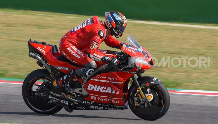 MotoGP 2019, Test Misano – Day 2: Quartararo di nuovo al vertice con la Yamaha Petronas davanti a Petrucci e Morbidelli - Foto 19 di 44