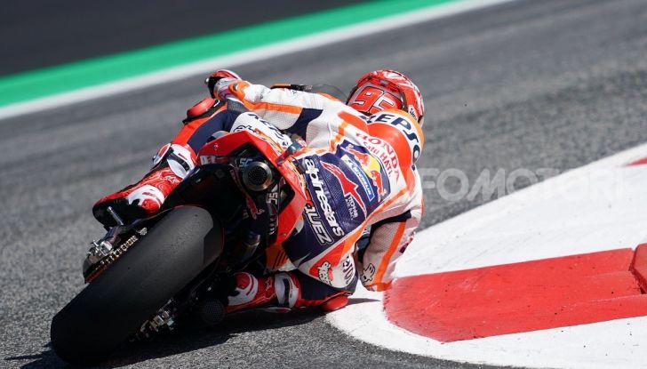 MotoGP 2019, GP d'Austria: Marquez davanti a tutti nelle libere del venerdì, Dovizioso a terra - Foto 7 di 19