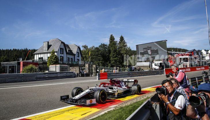 F1 2019, GP del Belgio: Leclerc centra la sua prima vittoria in Ferrari a Spa-Francorchamps - Foto 13 di 17