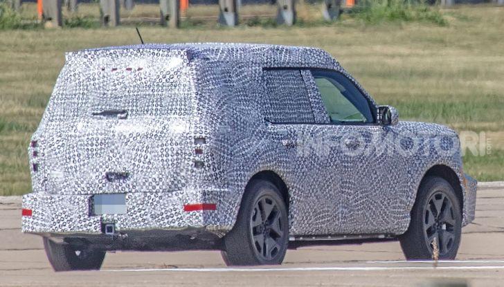 Ford Baby Bronco, prime immagini dei collaudi - Foto 8 di 12