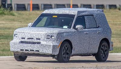 Ford Baby Bronco, prime immagini dei collaudi