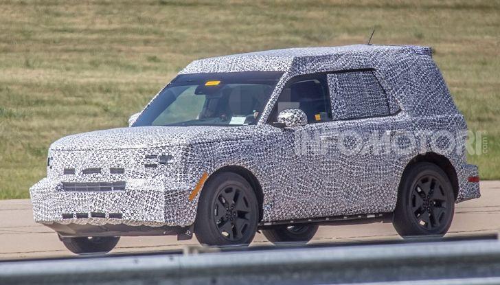 Ford Baby Bronco, prime immagini dei collaudi - Foto 6 di 12