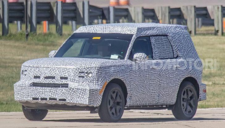 Ford Baby Bronco, prime immagini dei collaudi - Foto 1 di 12